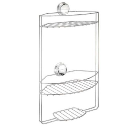 Croydex No Screws Stick n Lock 3 Tier Shower Store